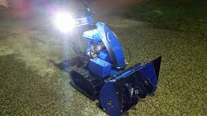 yamaha snowblower fan club let there be light ys624 let there be light
