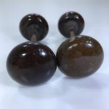 antique porcelain door knobs. Unique Antique Antique Door Knobs Brown Vintage Porcelain Ceramic Salvage Lot Of 2 Sets Intended