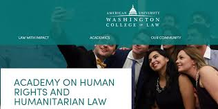 washington college of law human rights essay award armacad human rights essay award