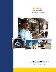 Training Brochure Alliedbarton Security Services