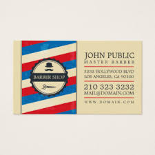 barbershop business cards barber shop business cards templates zazzle