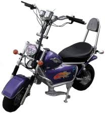 bravo mini hog electric chopper bike parts electricscooterparts com