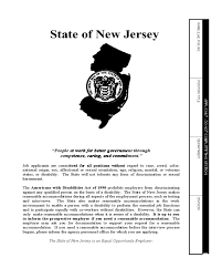 Fill nj disability forms standard instantly, edit online. Application For Employment State Of New Jersey Edit Fill Sign Online Handypdf