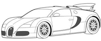 Small Picture Bugatti Veyron Super Car Coloring Page Bugatti car coloring
