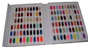 Nail Color Chart Details About 120 Colors Nail Polish Color Chart Book