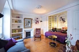 paris studio apartment merges classic