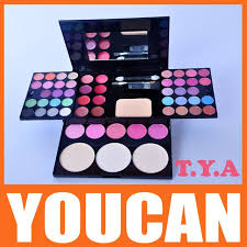 2016 hot tya fashion makeup shining eyeshadow box