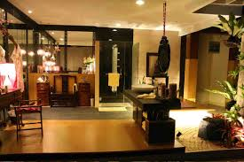 Elegant japanese bedroom style impressive Modern Glamour Nuance Home Entry Design With Wooden Table On The Grey Modern Floor Can Add The Home Design Ideas Home Design Decorating Ideas Natural Elegant Design Home Entry Design That Has Warm Lighting And