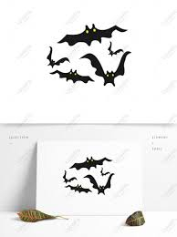 <b>halloween element bat</b> cartoon funny evil silhouette CDR images ...