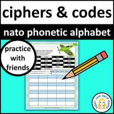 These phonetic symbols are used in many of our pronunciation exercises on the site. Nato Phonetic Alphabet Practice By Super Cool Nerd Mama Tpt
