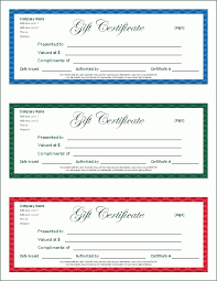 certificate template pages printable gift certificates this is another printable gift