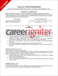 Claims Assistant Sample Resume Medical Assistant Resume Sample Career Igniter shalomhouseus 2
