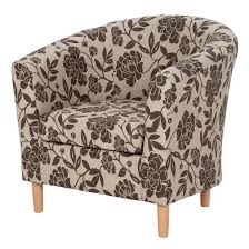 fl fabric tub chair