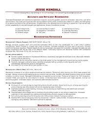 Bookkeeper Resume Sample Professional Resumes Bookkeeper Resume