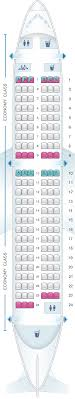 Airbus A319 Seating Chart Seat Map Brussels Airlines Airbus A319 Seatmaestro