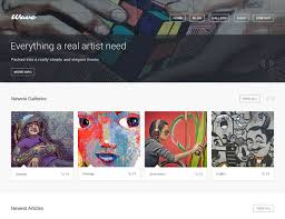 25 best wordpress themes for artists 2018 athemes