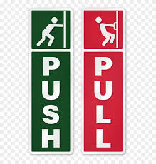zoom push pull stickers for glass doors hd png