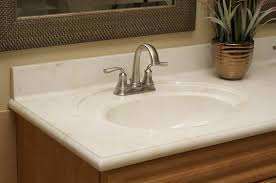 cultured marble bathroom countertops oval model