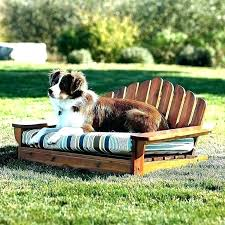 outdoor dog beds bunnings bed outdoors raised with canopy shade