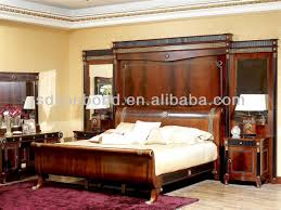 Spanish Bedroom Furniture 0010 High End Spanish New Design Bintangor Wood Classic Royal