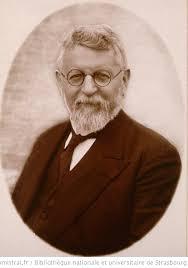 Huck Albert, pasteur à Schiltigheim et Lembach, Buste, face ...