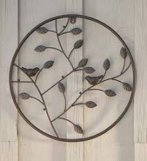 birds and branches circle wall art you can find more details by visiting the image link it is an affiliate link to amazon wallsculptures on cast iron bird branch wall art with indoor outdoor cast iron bird branch wall art metal wall art