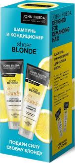"<b>Подарочный набор</b> для волос <b>John Frieda</b> Sheer Blonde ""Подари ..."