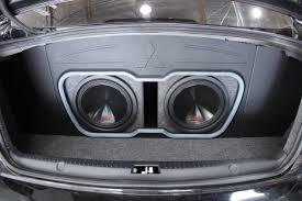 custom car sound system. custom jl audio trunk build image description car sound system