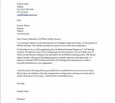 Cover Letter For Medical Assistant Cover Letter For Medical Assistant