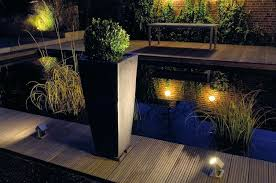 exterior garden lighting image of pond led landscape lighting kits exterior garden lighting uk