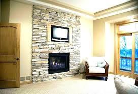 fake fireplace ideas painting rock fireplaces stone cast faux surround painti