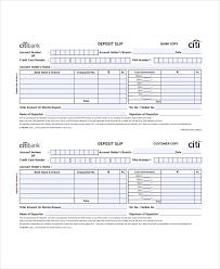 deposit slip examples 10 slip templates free sample example format free premium