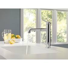 Delta Kitchen Faucet Handle Delta Trinsicar Kitchen Single Handle Pull Out Standard Kitchen