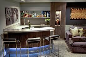Trafalgar - Contemporary Media Room and Bar contemporary-home-theater