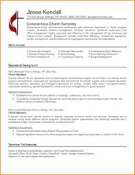 Secretary Resume Template Delectable 48 Secretary Resume Templates Top Resume Templates Secretary Resume