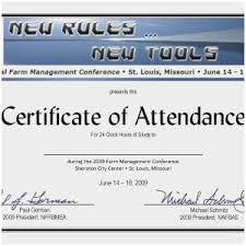 Samples Of Certificates Of Participation Sample Certificate Of Participation In Seminar Conference Attendance