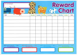 Child Incentive Chart Reward Chart Templates Word Excel Fomats