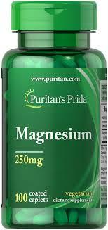 <b>Магний</b> Puritans Pride Magnesium <b>250</b> Mg - <b>100 Таблеток</b> — в ...