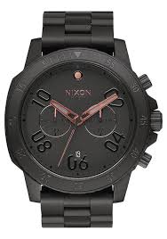 ranger chrono men s watches nixon watches and premium accessories ranger chrono all black rose gold