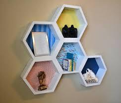 diy honeycomb shelves how to build hexagon cubes finished diy wood honeycomb shelves diy honeycomb shelves