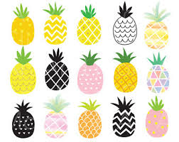 pineapple with sunglasses clipart. pin mosaic clipart pineapple #4 with sunglasses