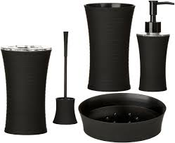 Dunelm Bathroom Accessories Accessories Black Dop Bathroom Accessories Bathroom Accessories