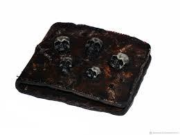 wallets business card holders handmade livemaster handmade wallet mens skull