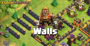wall rings are more efficient to use for walls upgrade from level 4 to 5