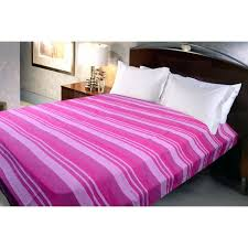 Sheet Online Cotton Handmade Kerala Bed Sheet King Size 220x250 Cm Pink