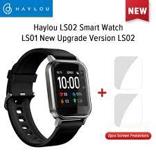 <b>Global Version Haylou</b> Solar LS02 Smart Watch Heart Rate ...