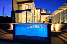 Modern Mansion With Indoor Pool Waterslide And Great Lighting Images