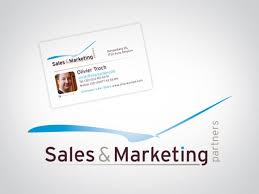 Sales Business Cards Sales Marketing Partners New Logo Business Cards