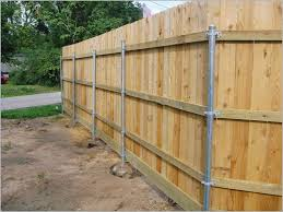 fence construction. how to build a wood fence with metal posts get post construction