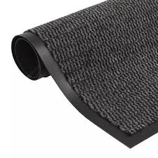 vidaXL <b>Dust Control Mat Rectangular</b> Tufted 40x60 cm Anthracite ...